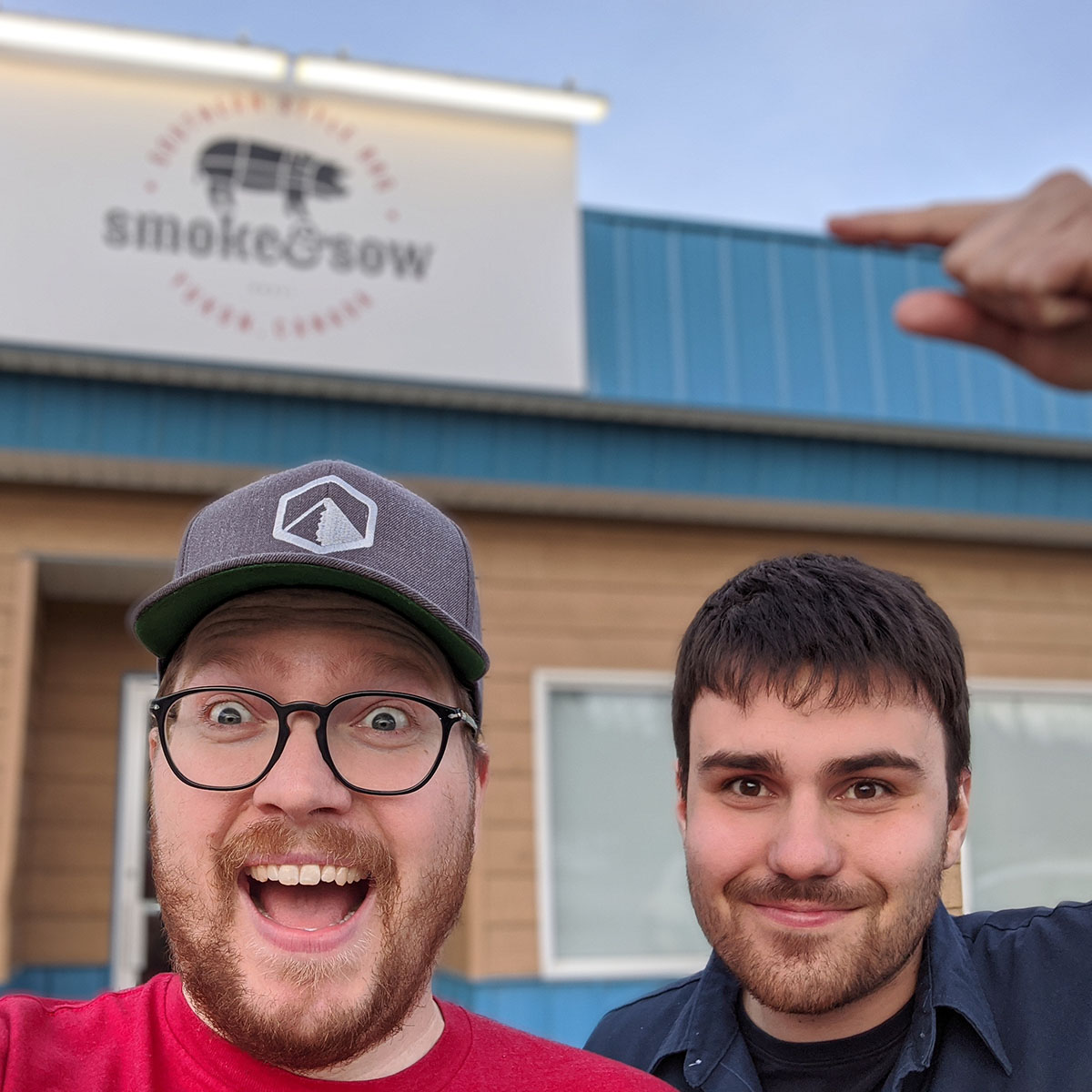 ray magnuson and steve from smoke & sow